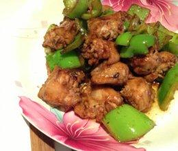 青椒炒鸡翅的做法