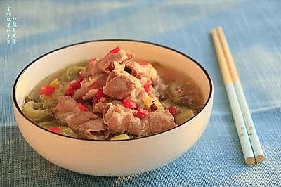 金针酸菜肥牛煲—冬季暖身