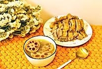 消暑莲藕绿豆汤(附蘸酱做法)的做法