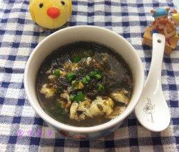 紫菜鸡蛋肉片汤的做法