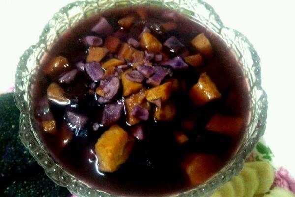 薯于你的甜   紫薯红薯红枣汤的做法