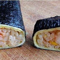 蛋包饭寿司卷#急速早餐#的做法图解10