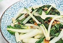 猪油渣小白菜的做法