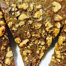苦荞红糖核桃饼