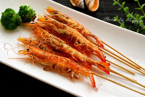 海盐烤大虾