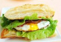 飞饼版培根鸡蛋汉堡的做法