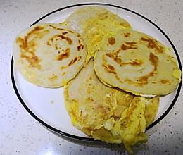 剩下的饺子皮怎么办?几分钟变成鸡蛋灌饼,很好吃的做法