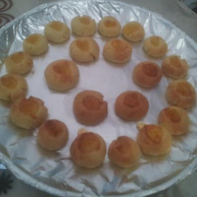 空气炸锅版果酱饼干的做法 步骤7