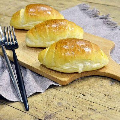 淡奶油面包卷