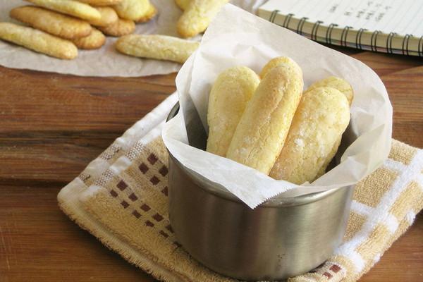 手指饼干––提拉米苏必备的做法