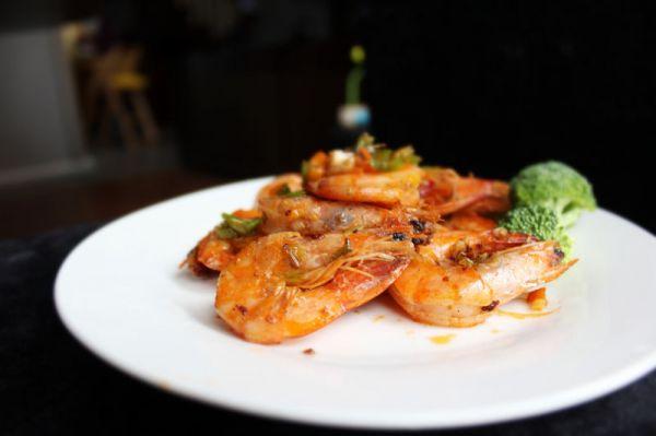 待客硬菜——椒盐虾的做法