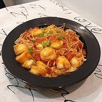 #餐桌上的春日限定# 番茄金针菇烧日本豆腐!超下饭!的做法图解11