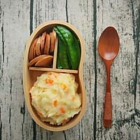 日式土豆泥+荷兰豆香肠便当,今天不想吃米饭!的做法图解10