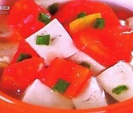 西红柿炒豆腐的做法