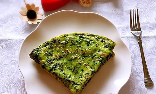 早餐菠菜饼的做法