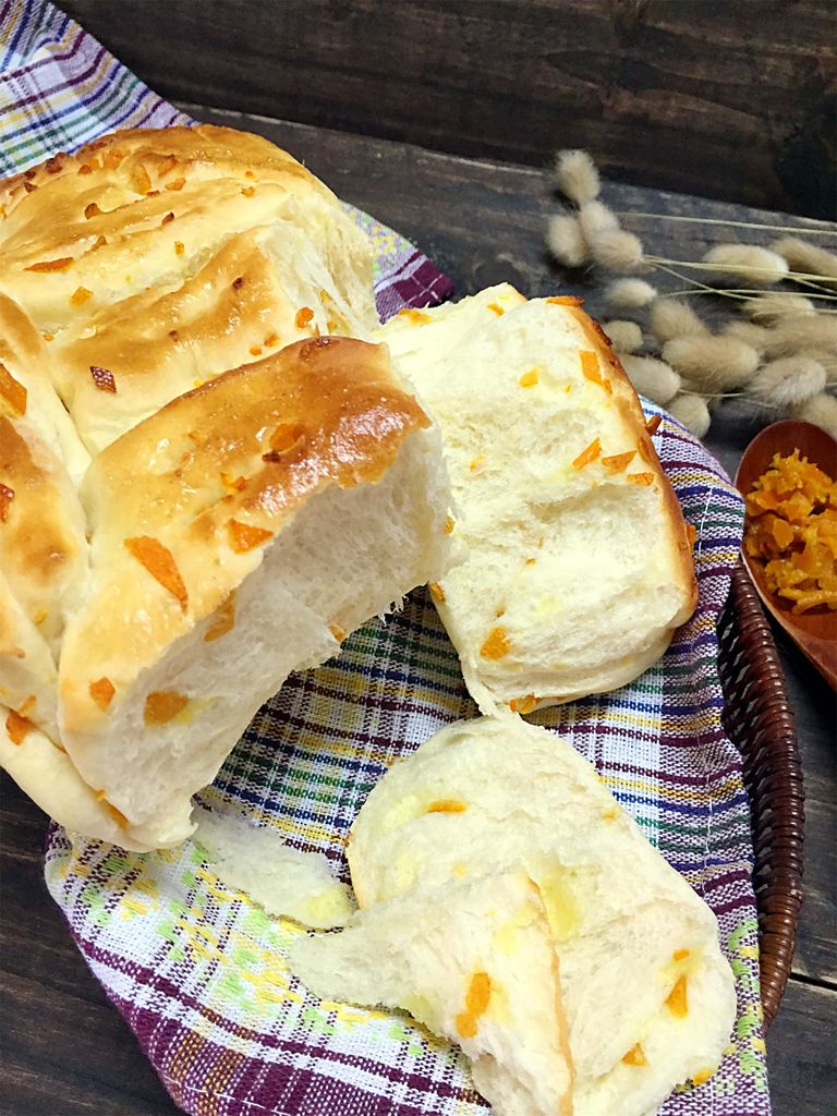 手撕橙皮面包的做法图解15