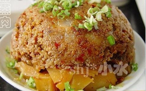 粉蒸肉的做法 粉蒸肉怎么做好吃 lucy000080分享的粉蒸肉的...