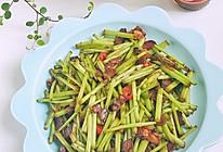 藜蒿炒广式腊肉的做法