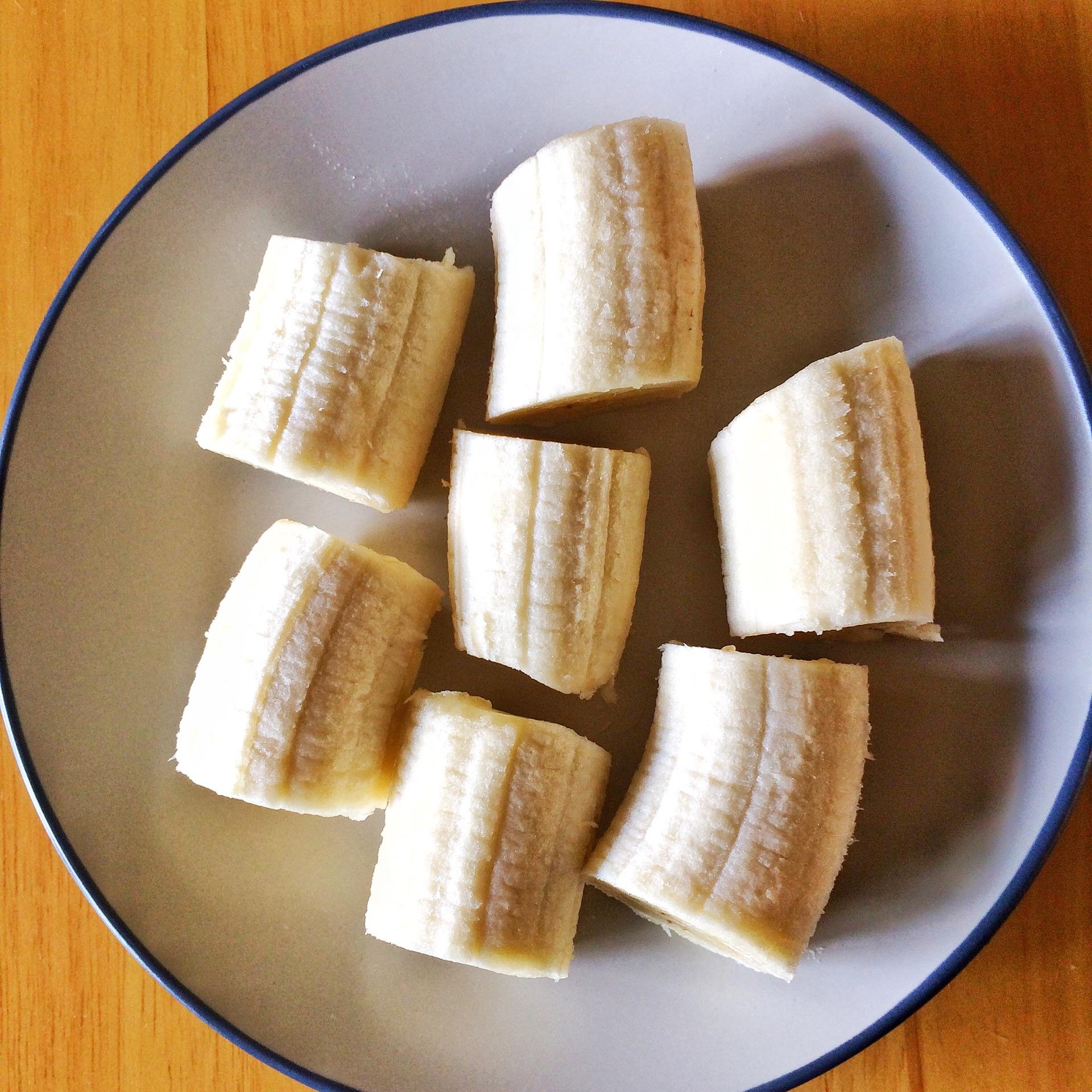 燕麦炸香蕉的做法图解2