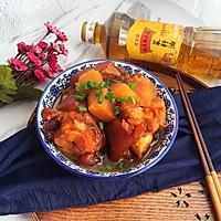 红烧猪蹄炖土豆#金龙鱼外婆乡小榨菜籽油,我要上春碗#