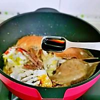#合理膳食 营养健康进家庭#红烧梭子蟹的做法图解7