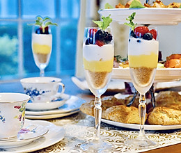 英式下午茶之1:浆果芭菲#520,美食撩动TA的心!#的做法