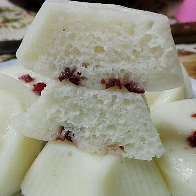 消耗大米粉的好去处——软糯香甜米发糕