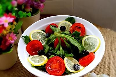 #夏日素食# 冰草色拉