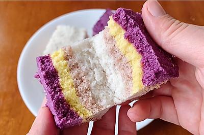 香甜四色米糕