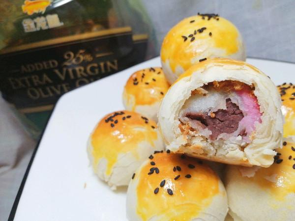 肉松汤圆酥的做法