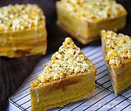 玉米培根三明治的做法