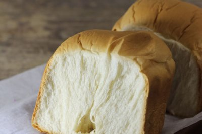 超软绵奶白吐司#东菱魔法云面包机#