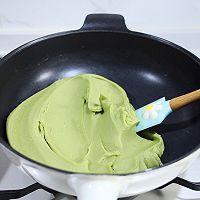 斑斓椰蓉和抹茶红豆馅月饼的做法图解9