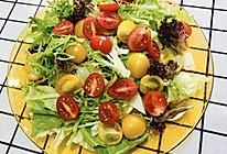 #美食视频挑战赛#拌个简单的蔬菜沙拉的做法