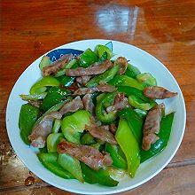 柿子椒炒腊肉