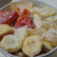 酸奶蔬果捞的做法图解1