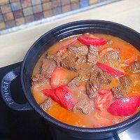 贴秋膘  牛肉爱上西红柿【西红柿炖牛肉】的做法图解14