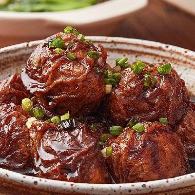 【油面筋塞肉】大上海才有的大肉丸,特别不一般!