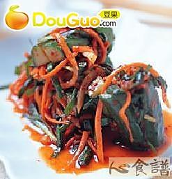 黄瓜泡菜的做法