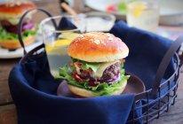 比外卖更好的:牛肉芝士汉堡的做法