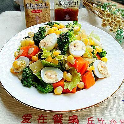 什锦鹌鹑蛋沙拉