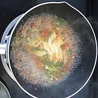 番茄鸡肉柳叶面 宝宝辅食的做法图解8