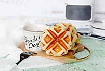 蜜红豆华夫饼(酵母版)#网红美食我来做#的做法