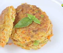 鲜蔬龙利鱼饼的做法
