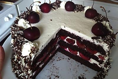 黑森林 (Schwarzwald-cake)