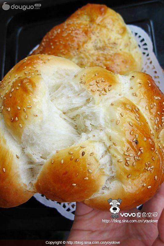 自制面包的做法