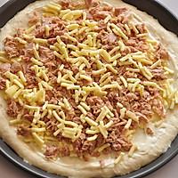 COUSS特约食谱——金枪鱼培根披萨的做法图解7