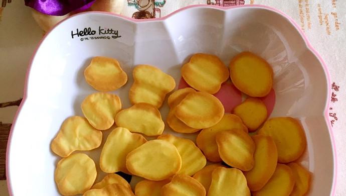 超级简单不需黄油的蛋黄饼干