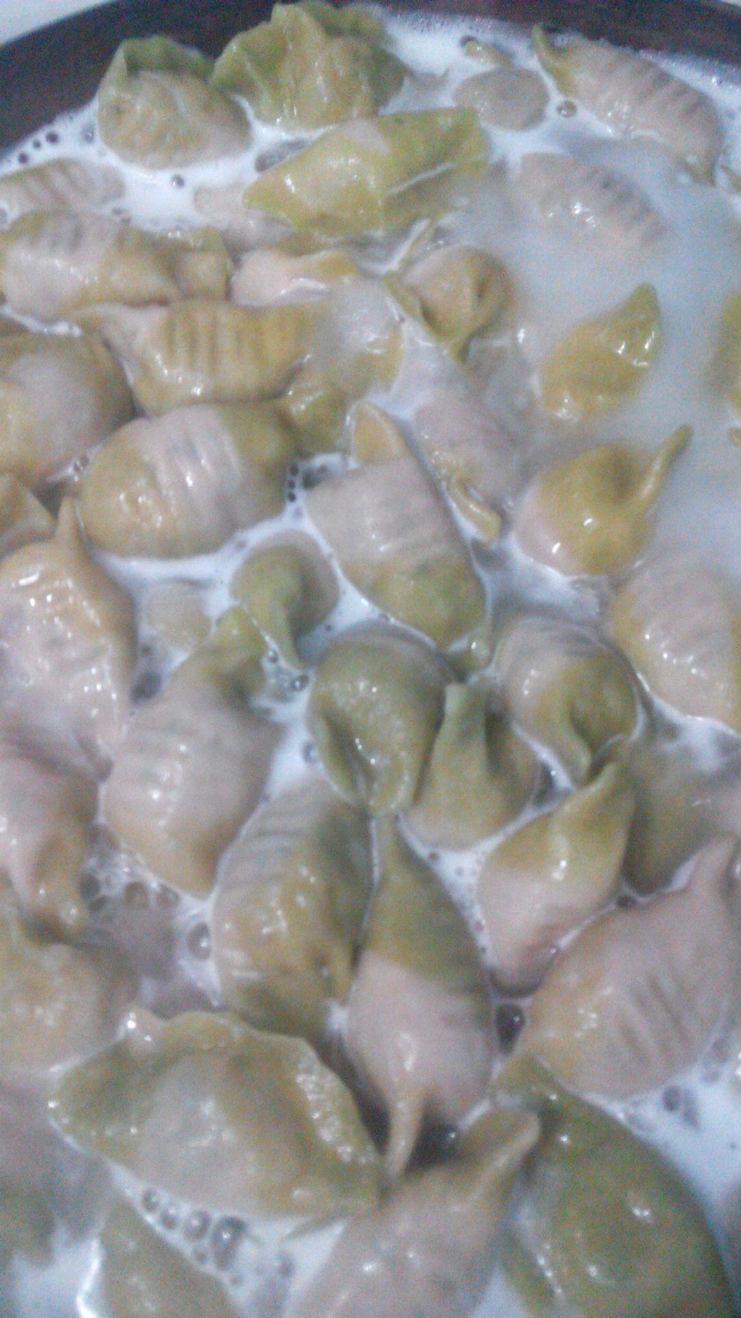 碧玉白菜饺的做法图解15