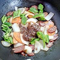 黑胡椒酱牛肉肠意面的做法图解6